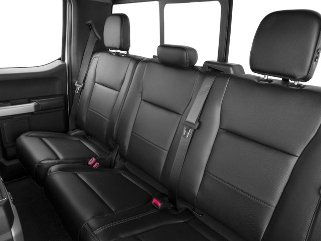 2017 Ford Super Duty F-350 SRW Prices and Values Supercab Lariat 2WD backseat interior