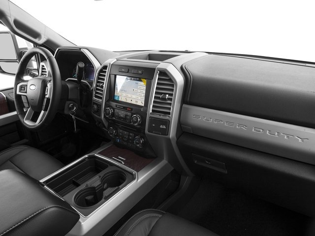 2017 Ford Super Duty F-350 SRW Prices and Values Supercab Lariat 2WD passenger's dashboard