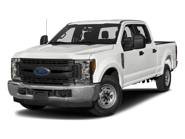 2017 Ford Super Duty F-250 SRW Pictures Super Duty F-250 SRW Crew Cab XL 4WD photos side front view