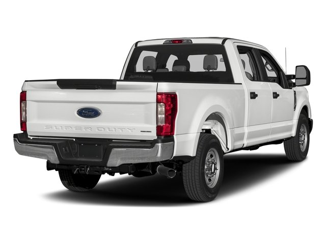 2017 Ford Super Duty F-350 SRW Prices and Values Crew Cab XL 2WD side rear view