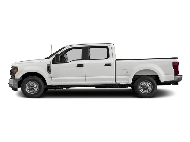 2017 Ford Super Duty F-350 SRW Prices and Values Crew Cab XL 2WD side view
