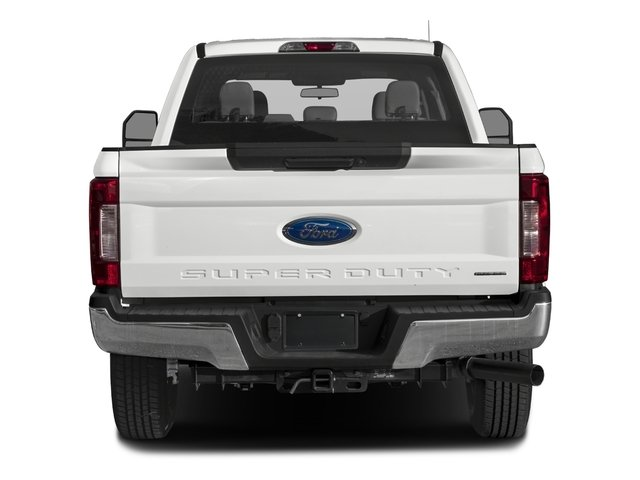 2017 Ford Super Duty F-350 SRW Prices and Values Crew Cab XL 2WD rear view