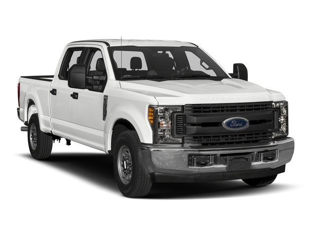 2017 Ford Super Duty F-350 SRW Prices and Values Crew Cab XL 2WD side front view