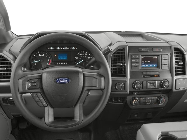 2017 Ford Super Duty F-350 SRW Prices and Values Crew Cab XL 2WD driver's dashboard