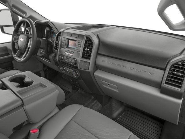 2017 Ford Super Duty F-250 SRW Prices and Values Crew Cab XL 4WD passenger's dashboard