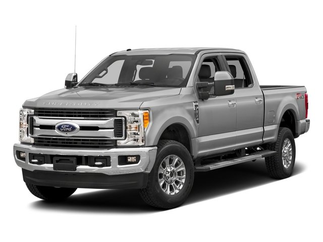 2017 Ford Super Duty F-350 SRW Pictures Super Duty F-350 SRW Crew Cab XLT 4WD photos side front view