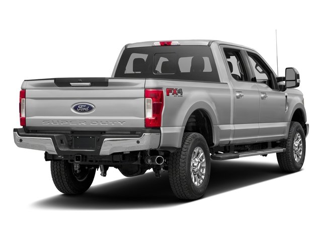 2017 Ford Super Duty F-350 SRW Prices and Values Crew Cab XLT 4WD side rear view