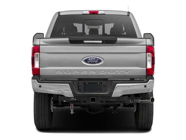 2017 Ford Super Duty F-350 SRW Prices and Values Crew Cab XLT 4WD rear view