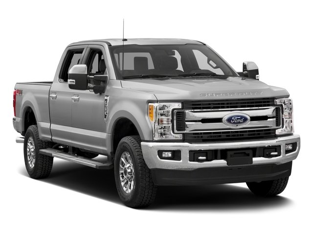 2017 Ford Super Duty F-350 SRW Prices and Values Crew Cab XLT 4WD side front view