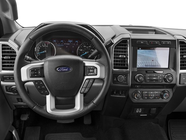 2017 Ford Super Duty F-350 SRW Prices and Values Crew Cab XLT 4WD driver's dashboard