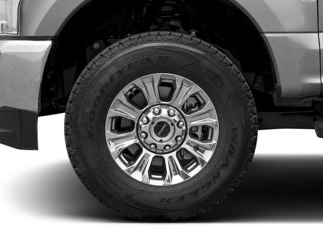 2017 Ford Super Duty F-350 SRW Prices and Values Crew Cab XLT 4WD wheel