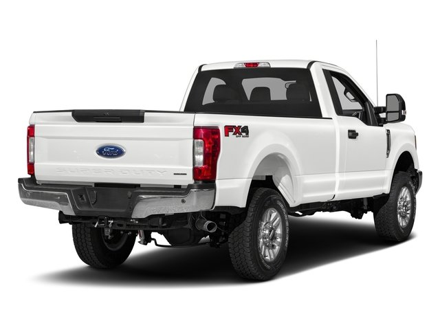 2017 Ford Super Duty F-250 SRW Prices and Values Regular Cab XLT 2WD side rear view