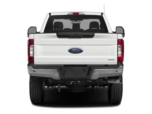 2017 Ford Super Duty F-250 SRW Prices and Values Regular Cab XLT 2WD rear view