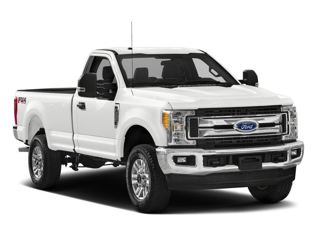 2017 Ford Super Duty F-250 SRW Prices and Values Regular Cab XLT 2WD side front view