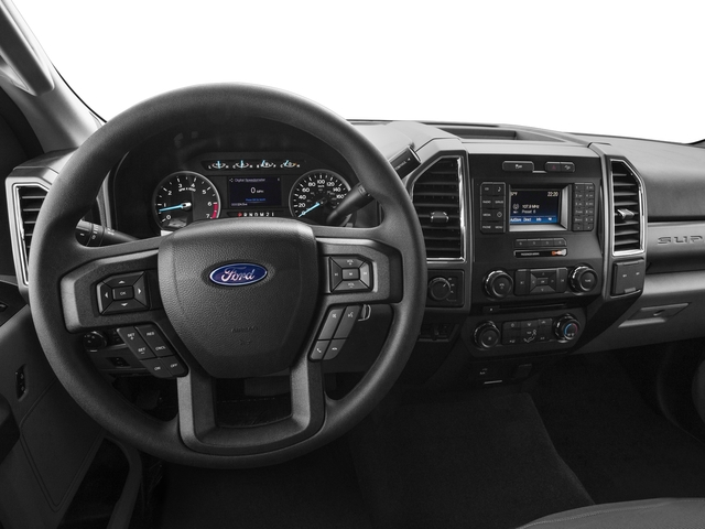 2017 Ford Super Duty F-250 SRW Prices and Values Regular Cab XLT 2WD driver's dashboard