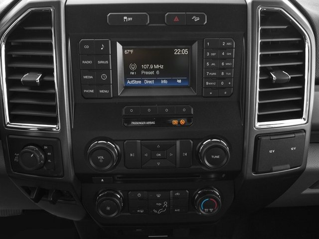 2017 Ford Super Duty F-250 SRW Prices and Values Regular Cab XLT 2WD stereo system