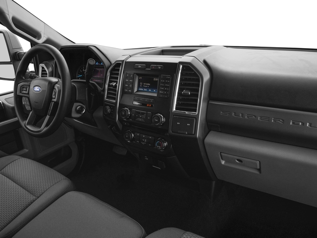 2017 Ford Super Duty F-250 SRW Prices and Values Regular Cab XLT 2WD passenger's dashboard