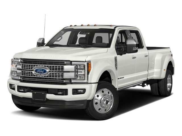 2017 Ford Super Duty F-450 DRW Prices and Values Crew Cab Platinum 4WD T-Diesel