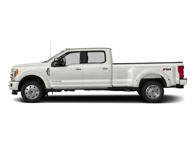 2017 Ford Super Duty F-450 DRW Prices and Values Crew Cab Platinum 4WD T-Diesel side view