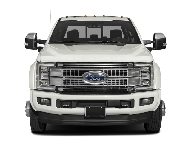 2017 Ford Super Duty F-450 DRW Prices and Values Crew Cab Platinum 4WD T-Diesel front view