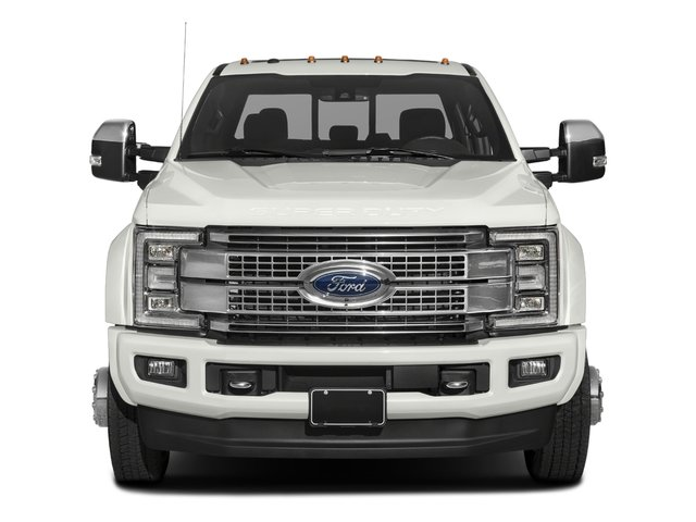 2017 Ford Super Duty F-450 DRW Pictures Super Duty F-450 DRW Crew Cab Platinum 4WD T-Diesel photos front view
