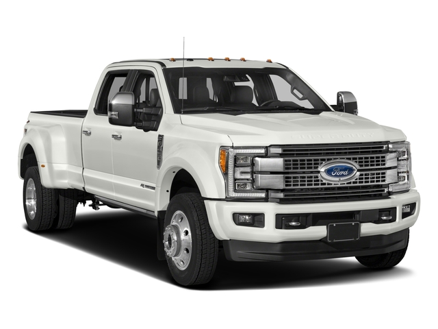 2017 Ford Super Duty F-450 DRW Prices and Values Crew Cab Platinum 4WD T-Diesel side front view