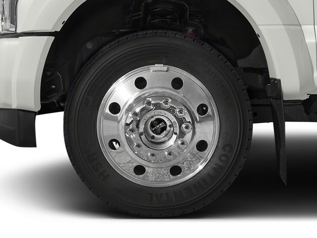 2017 Ford Super Duty F-450 DRW Prices and Values Crew Cab Platinum 4WD T-Diesel wheel