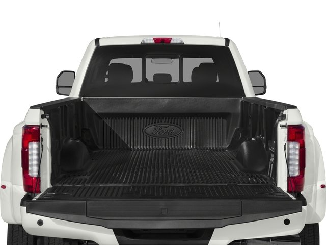 2017 Ford Super Duty F-450 DRW Prices and Values Crew Cab Platinum 4WD T-Diesel open trunk