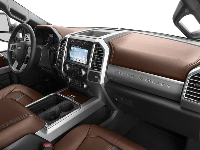 2017 Ford Super Duty F-450 DRW Prices and Values Crew Cab Platinum 4WD T-Diesel passenger's dashboard
