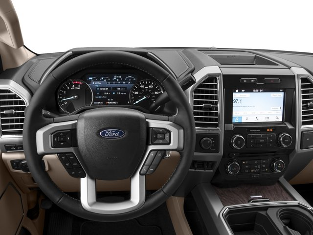 2017 Ford Super Duty F-450 DRW Prices and Values Crew Cab Lariat 4WD T-Diesel driver's dashboard