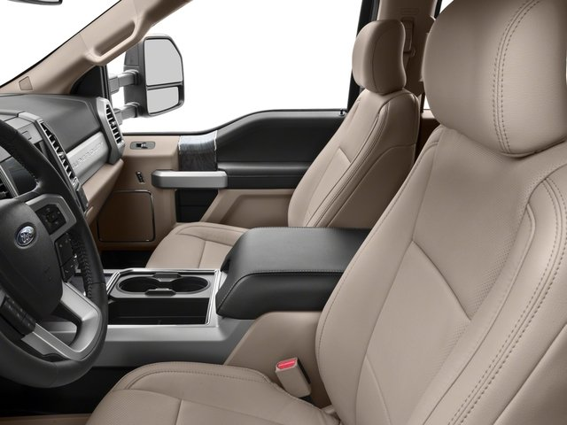 2017 Ford Super Duty F-450 DRW Pictures Super Duty F-450 DRW Crew Cab Lariat 4WD T-Diesel photos front seat interior