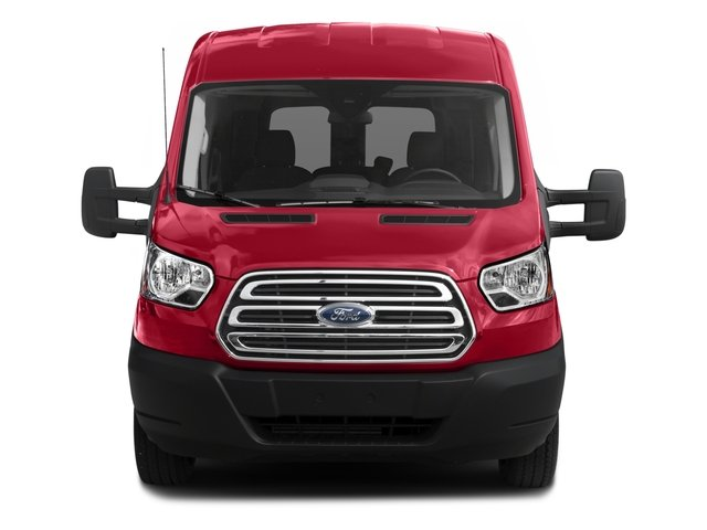 2017 Ford Transit Wagon Prices and Values Passenger Van XLT Medium Roof front view