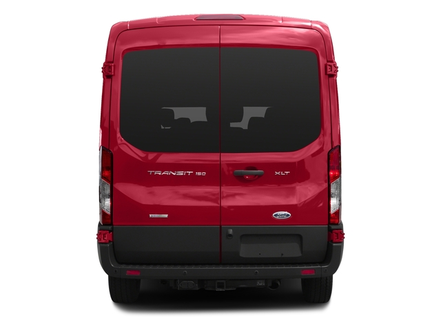 2017 Ford Transit Wagon Prices and Values Passenger Van XLT Medium Roof rear view