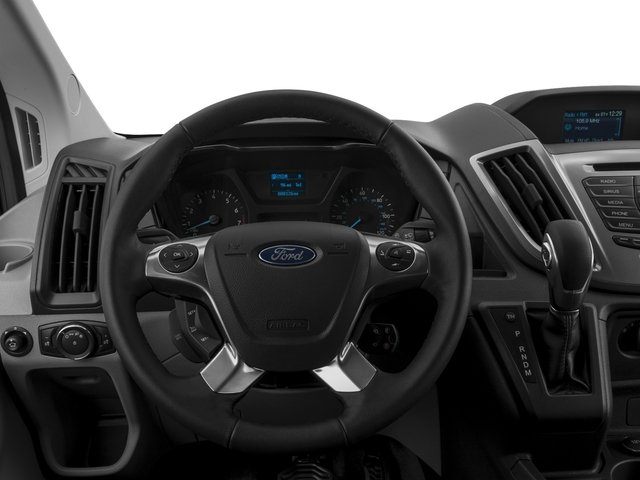 2017 Ford Transit Wagon Prices and Values Passenger Van XLT Medium Roof driver's dashboard