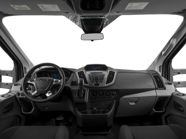 2017 Ford Transit Wagon Prices and Values Passenger Van XLT Medium Roof full dashboard