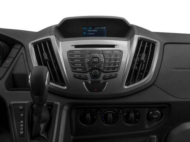 2017 Ford Transit Wagon Prices and Values Passenger Van XLT Medium Roof stereo system
