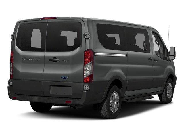 2017 Ford Transit Wagon Pictures Transit Wagon Passenger Van XLT Low Roof photos side rear view