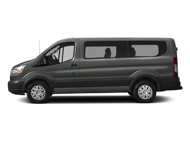 2017 Ford Transit Wagon Pictures Transit Wagon Passenger Van XLT Low Roof photos side view