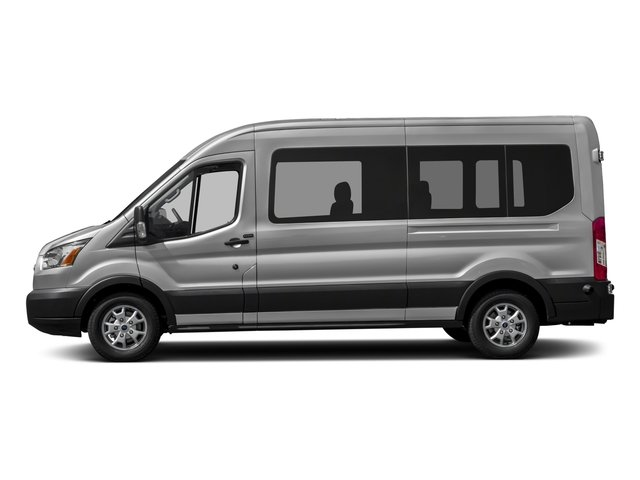 2017 Ford Transit Wagon Prices and Values Passenger Van XL Medium Roof side view