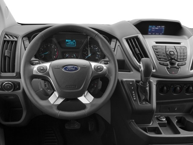 2017 Ford Transit Wagon Prices and Values Passenger Van XL Medium Roof driver's dashboard