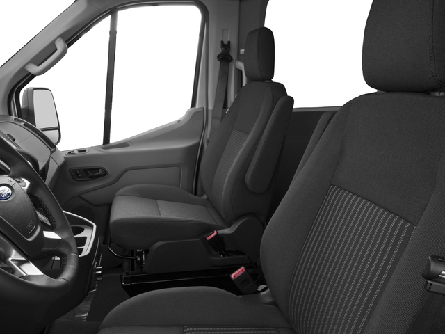2017 Ford Transit Wagon Prices and Values Passenger Van XL Medium Roof front seat interior