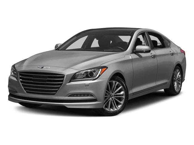 2017 Genesis G80 Base Price 3.8L AWD Pricing side front view