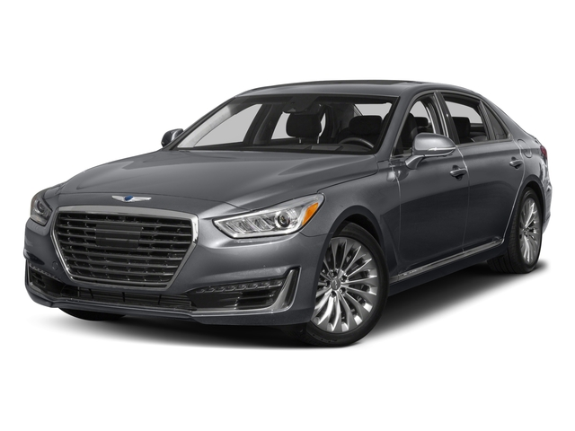 2017 Genesis G90 Base Price 5.0L Ultimate RWD Pricing side front view
