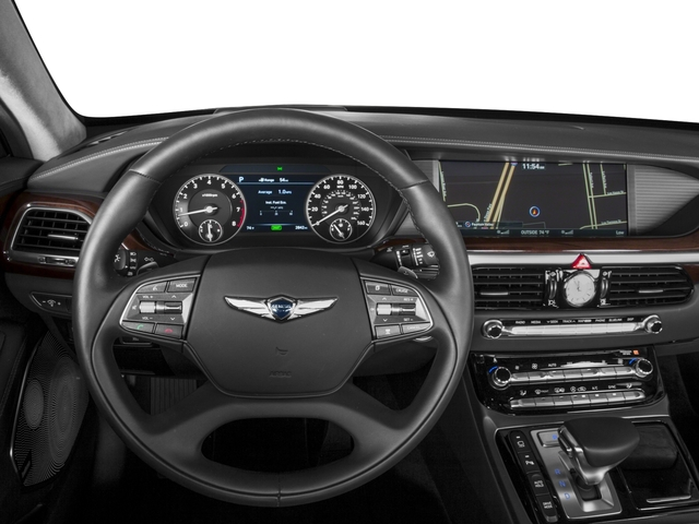 2017 Genesis G90 Base Price 5.0L Ultimate RWD Pricing driver's dashboard