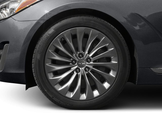 2017 Genesis G90 Pictures G90 5.0L Ultimate RWD photos wheel