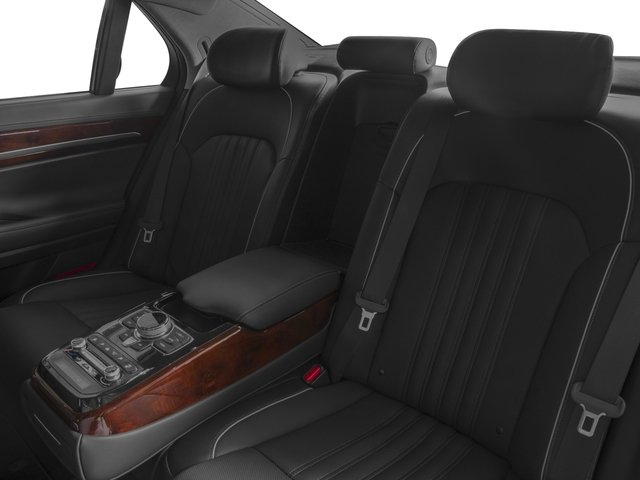 2017 Genesis G90 Pictures G90 5.0L Ultimate RWD photos backseat interior