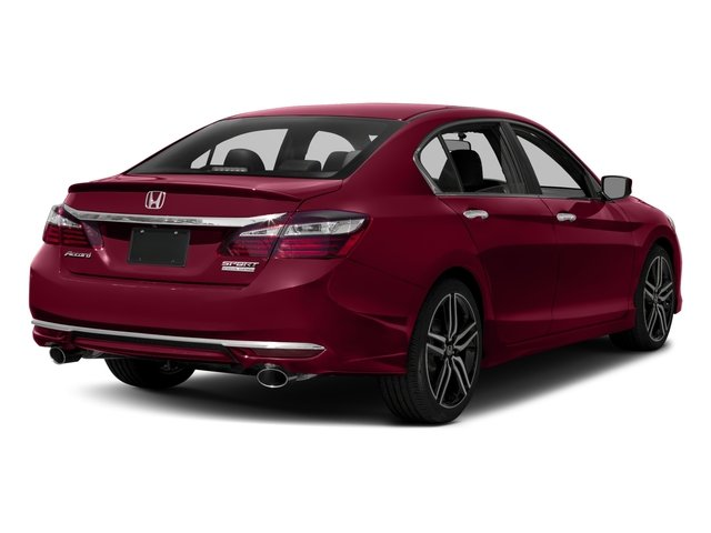 2017 Honda Accord Sedan Base Price Sport Se Cvt Pricing Side Rear View