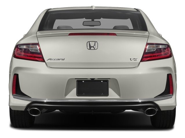 2017 Honda Accord Coupe Base Price Ex L V6 Manual Pricing Rear View
