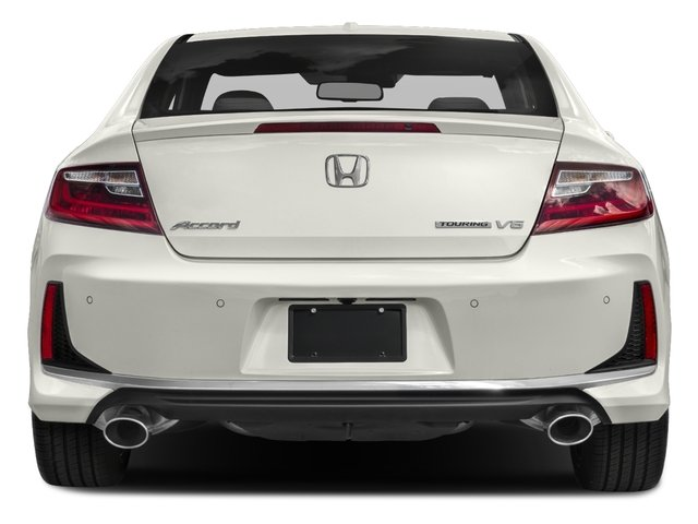 2017 Honda Accord Coupe Pictures Touring Auto Photos Rear View