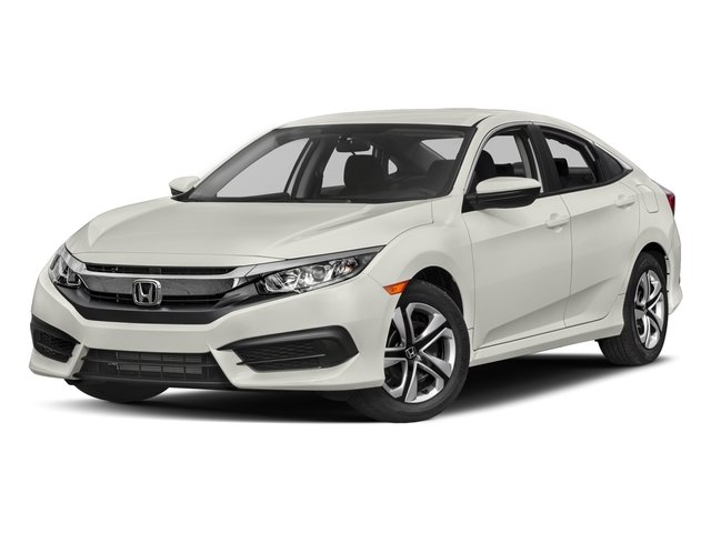 2017 Honda Civic Sedan Base Price Lx Cvt Pricing Side Front View